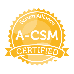 Advanced Scrum Master - A-CSM badge