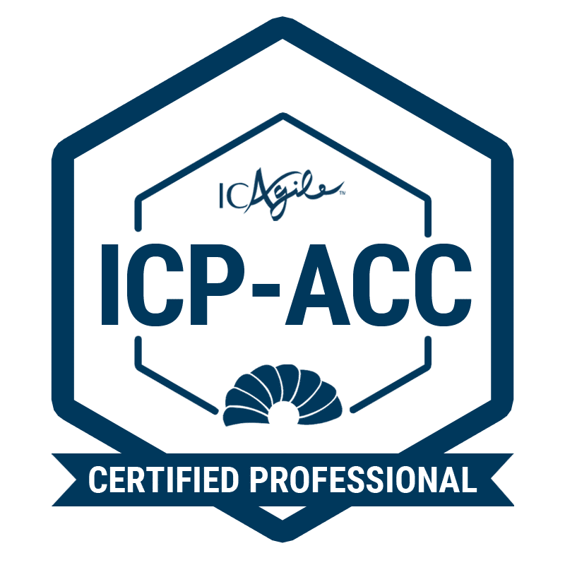 Agile Certified Coaching - ICAgile ICP-ACC