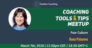 Coaching Tools & Tips - Dana Pylayeva