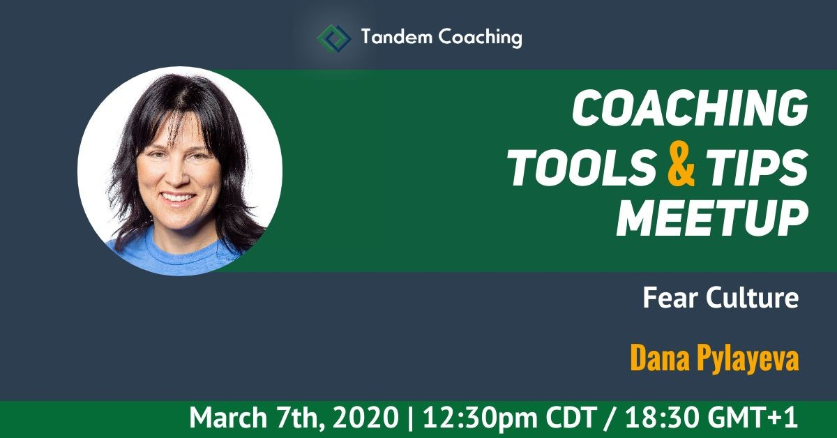Coaching Tools & Tips - Dana Pylayeva
