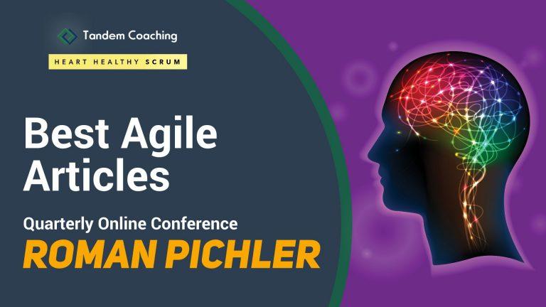 Best Agile Articles Online Conference - Roman Pichler