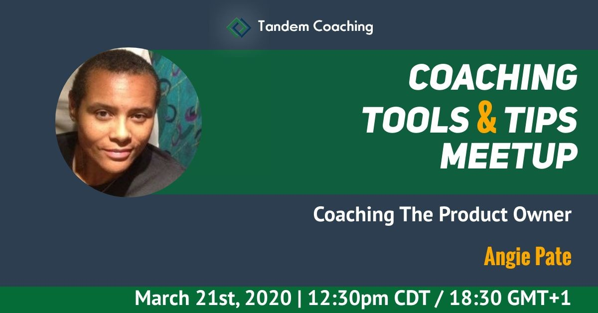 Coaching Tools & Tips - Angie Pate