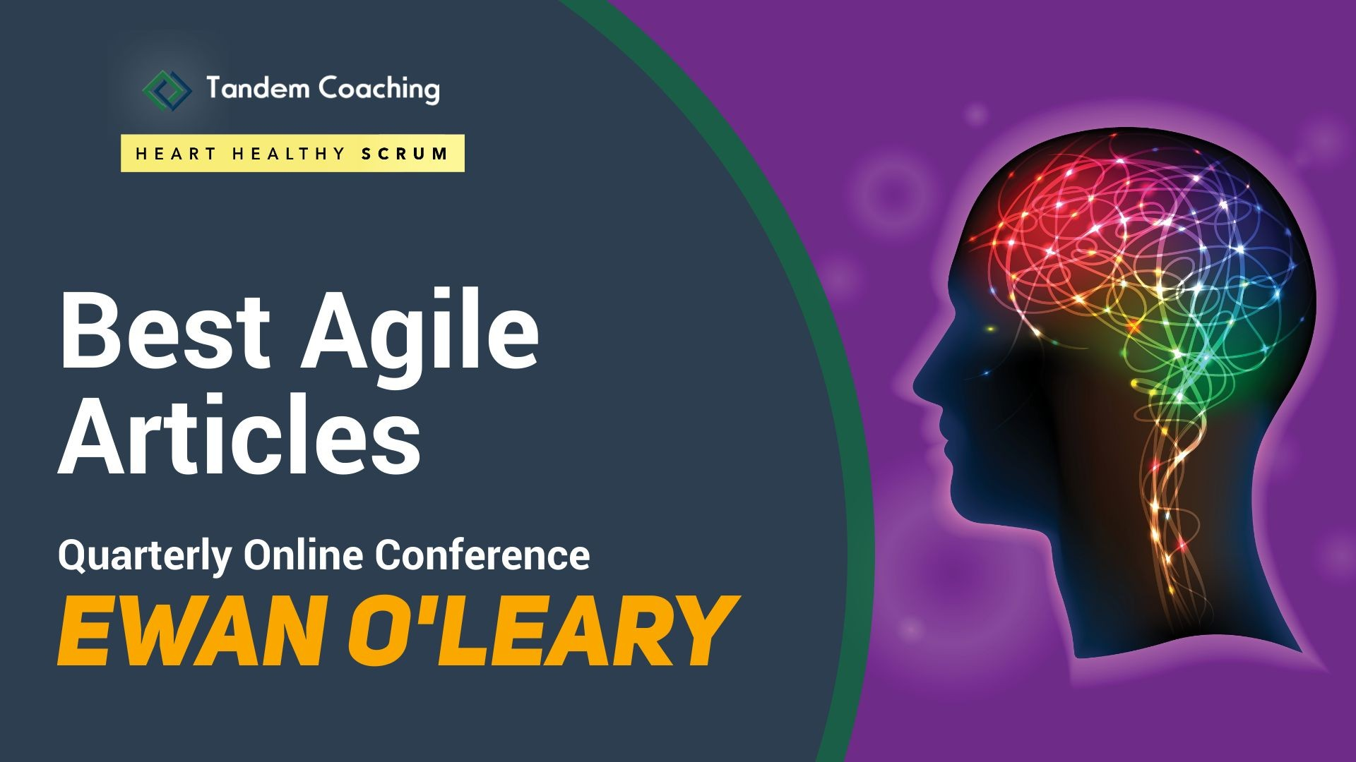 On Scrum Mastery - Best Agile Articles Online Conference - Ewan O'Leary