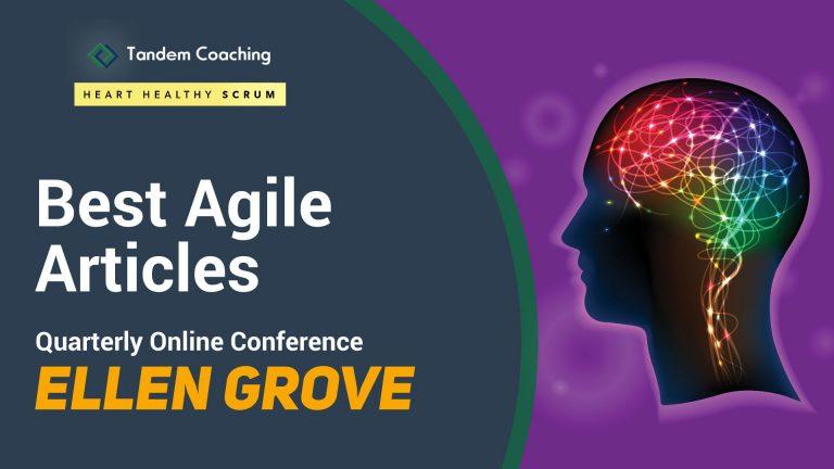 Best Agile Articles Online Conference - Ellen Grove