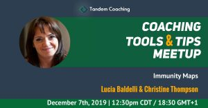 Coaching Tools & Tips - Lucia Baldelli and Christine Thompson