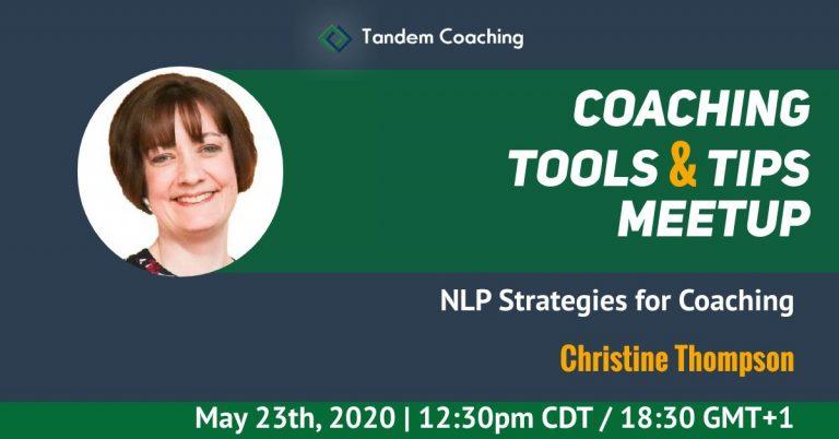 Coaching Tools & Tips - Christine Thompson