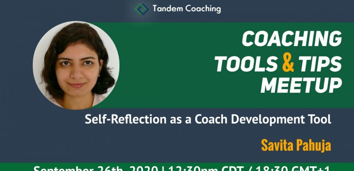 Coaching Tools & Tips - Savita Pahuja