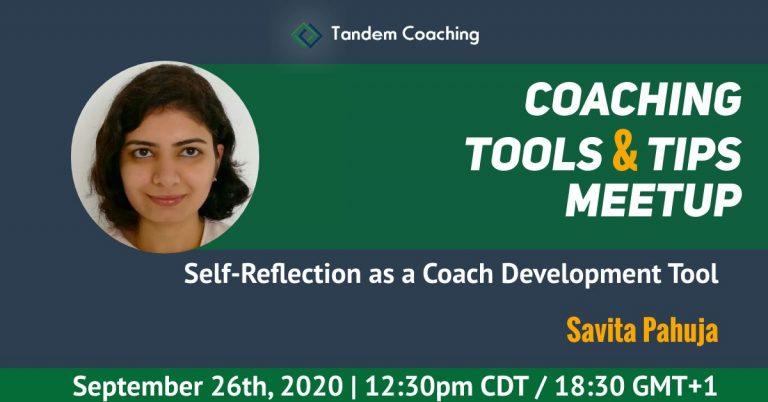 Coaching Tools & Tips - Savita Pahuja