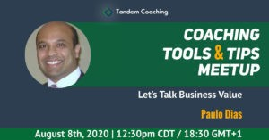 Let's Talk Business - Coaching Tools & Tips - Paulo Dias
