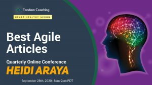 Heidi Araya - Growing your Agile Team - Best Agile Articles Q32020